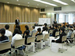 「来賓祝辞」 静岡県経済産業部商工業局 局長 大石 勝彦 氏