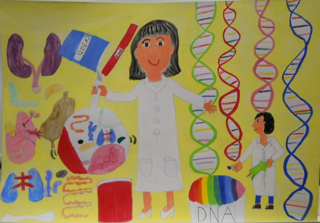 静岡市教育長賞 DNAねんど 静岡市立蒲原西小3年 松永 悠伽
