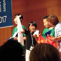 【IEYI2017】銀メダルやったー!!