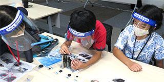 【画像】藤枝市少年少女発明クラブの様子