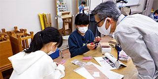 【画像】三島市少年少女発明クラブの様子